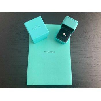 Tiffany Round 1.01 ct H VVS2 3 EXC $17k NEW