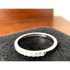 Pre-Loved Jewelry Tiffany NOVO Half Eternity Diamond Band Size 6.5