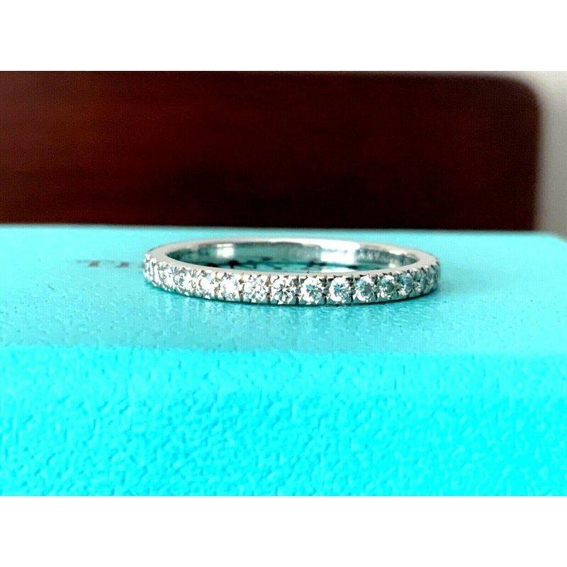 Pre-Loved Jewelry Tiffany NOVO Full Eternity Wedding Band Size 6.5