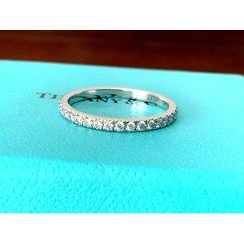 Tiffany NOVO Full Eternity Wedding Band Size 6.5