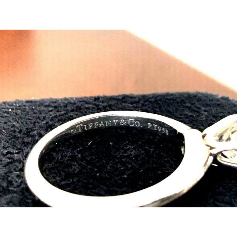 Pre-Loved Jewelry Tiffany Round 1.16 ct I VVS2 3 EXC $17k NEW