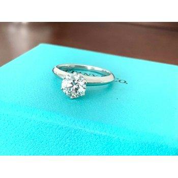Tiffany Round 1.16 ct I VVS2 3 EXC $17k NEW
