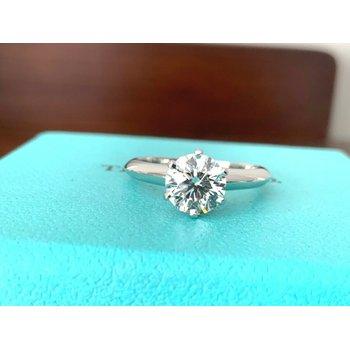 Tiffany Round 1.10 ct I VS2 $16k NEW