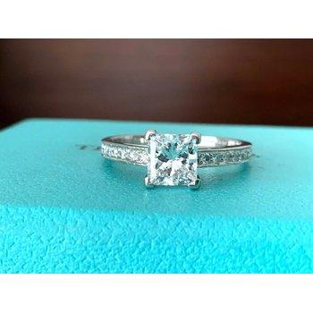 Tiffany Princess Cut 1.16 ct D VS1 $20k NEW