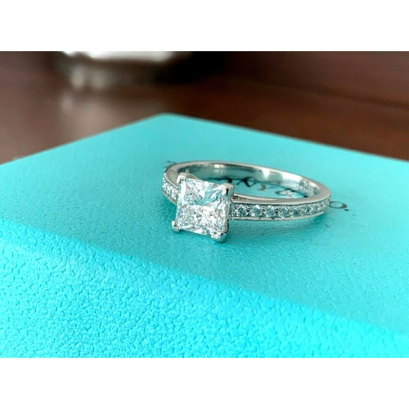 Pre-Loved Jewelry Tiffany Princess Cut 1.16 ct D VS1 $20k NEW