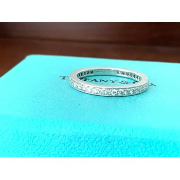 Tiffany Legacy FULL Eternity Diamond Band $3675 NEW