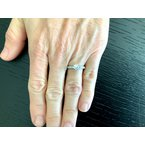 Pre-Loved Jewelry Tiffany .82 ct Channel Set Diamond Ring I VVS1 $7k NEW