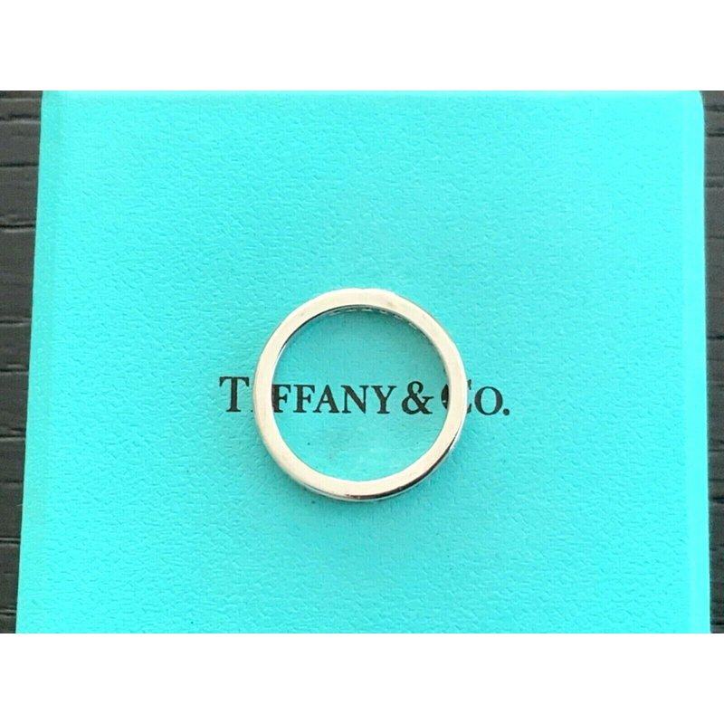 Pre-Loved Jewelry Tiffany Channel Set 2.5 mm Eternity Band $3800 NEW
