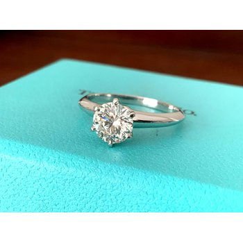 Tiffany 1.02 ct Round I VS1 $14k NEW