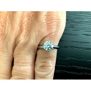 Tiffany Round .90 ct I VVS1 $13k NEW