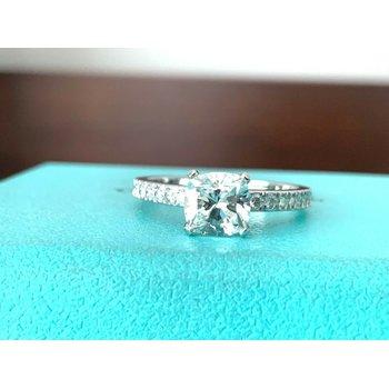 Tiffany NOVO 1.07 ct G VS2 $14k NEW