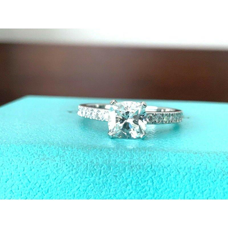 Pre-Loved Jewelry Tiffany NOVO 1.07 ct G VS2 $14k NEW