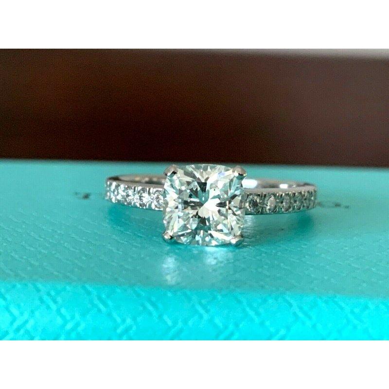 Tiffany NOVO 1.17 ct H VVS2 $16k NEW