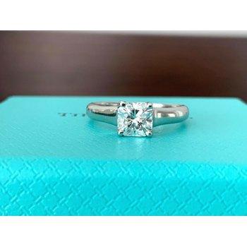 Tiffany LUCIDA .76 ct G VVS2 $9k NEW