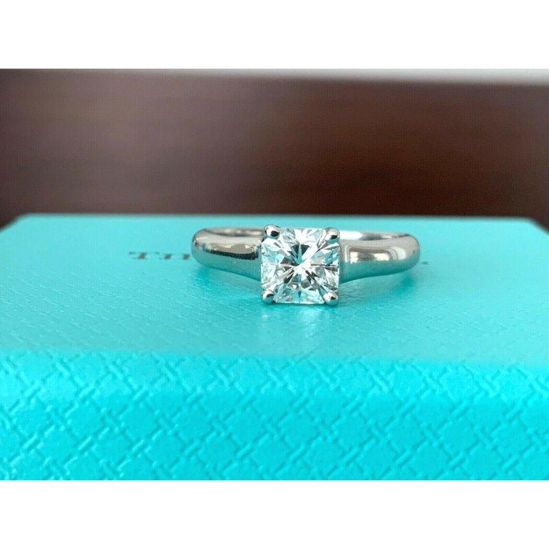 Pre-Loved Jewelry Tiffany LUCIDA .76 ct G VVS2 $9k NEW