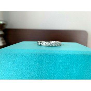 Tiffany 3 mm Channel Set Diamond Ring $3300 New