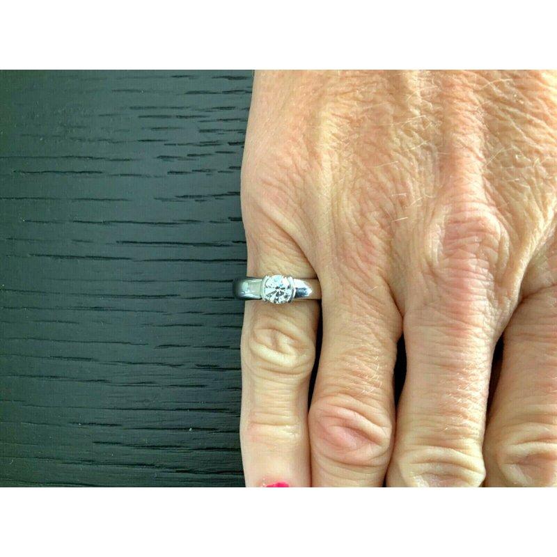 Pre-Loved Jewelry Tiffany Etoile .71 ct G VS1 $10k NEW
