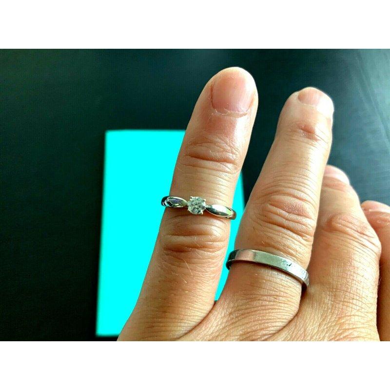 Pre-Loved Jewelry Tiffany HARMONY .23 ct E VS1 WORN 2 WEEKS