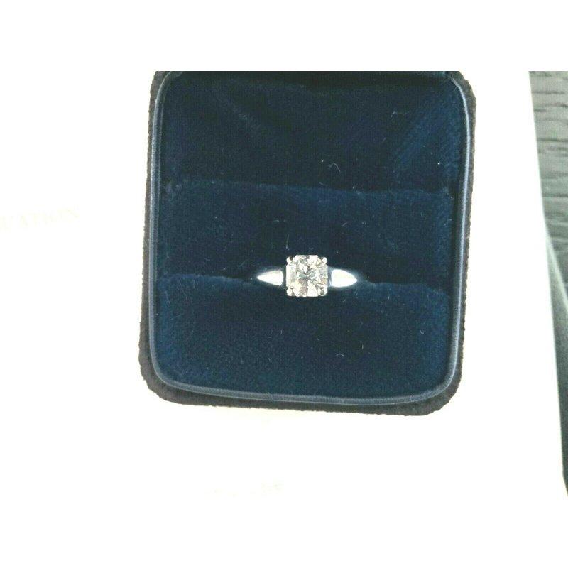 Pre-Loved Jewelry Tiffany Lucida .50 ct H VVS1 $6k NEW