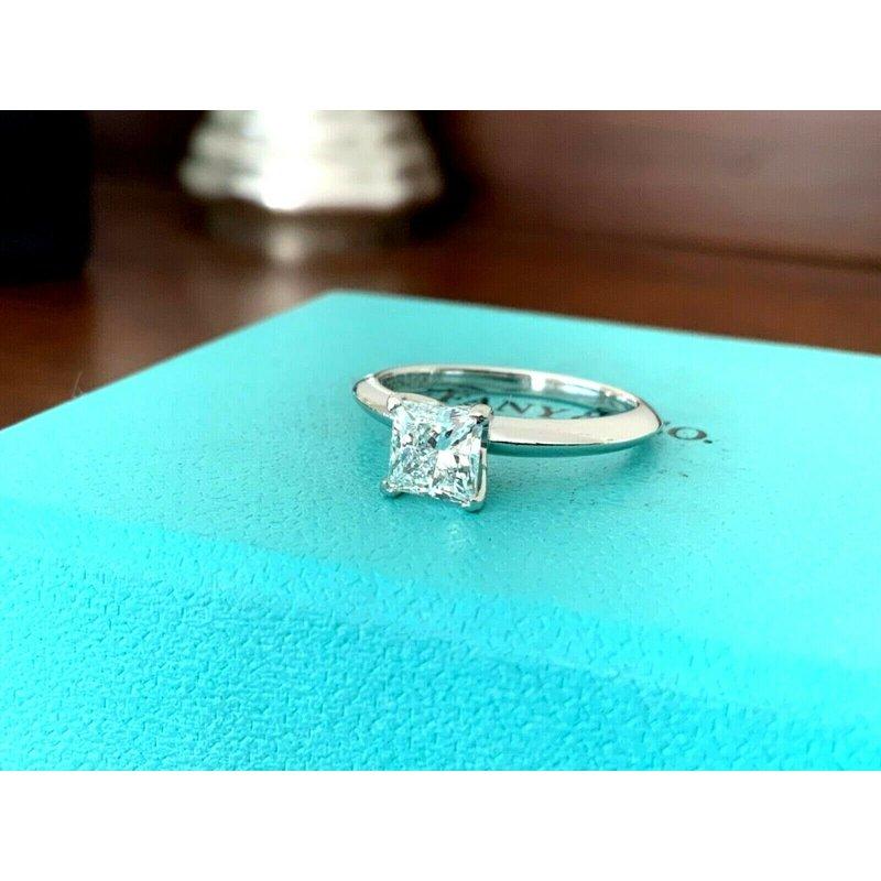 Pre-Loved Jewelry Tiffany Princess .88 ct F VS1 $11k NEW