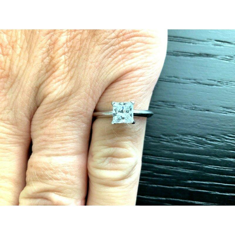 Tiffany Princess .88 ct F VS1 $11k NEW