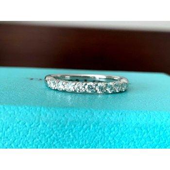 Tiffany Embrace 2.2 mm Eternity Band $4k NEW