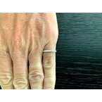 Pre-Loved Jewelry Tiffany Embrace 2.2 mm Eternity Band $4k NEW