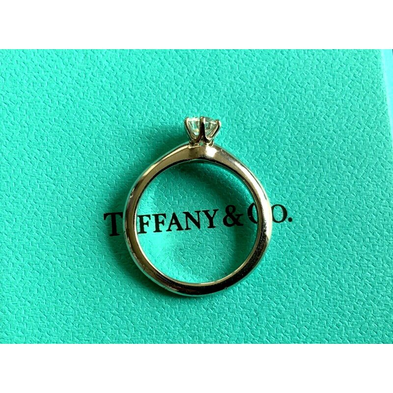 Pre-Loved Jewelry Tiffany Round .50 ct H VVS1 $5k NEW