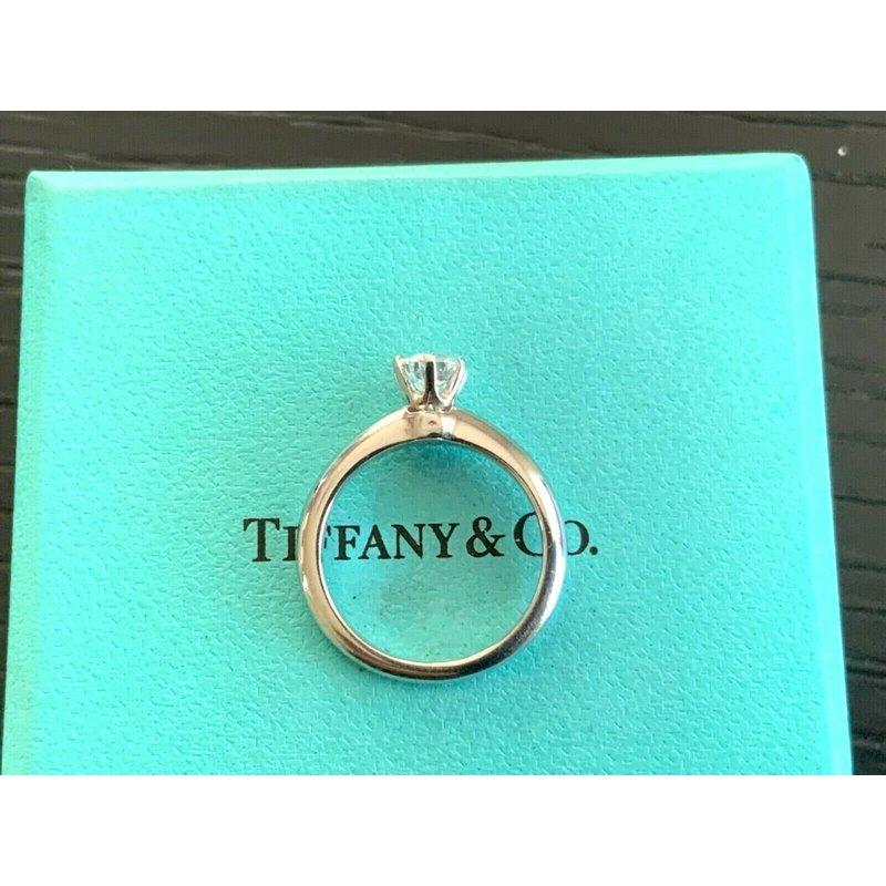 Pre-Loved Jewelry Tiffany Round .53 ct G VVS1 3 EXC $6k NEW