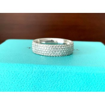 Tiffany Metro Diamond Eternity Band $8k NEW