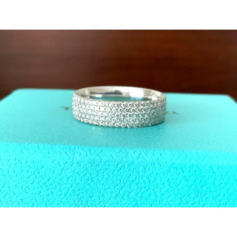 Tiffany Metro Diamond Eternity Band $8k NEW