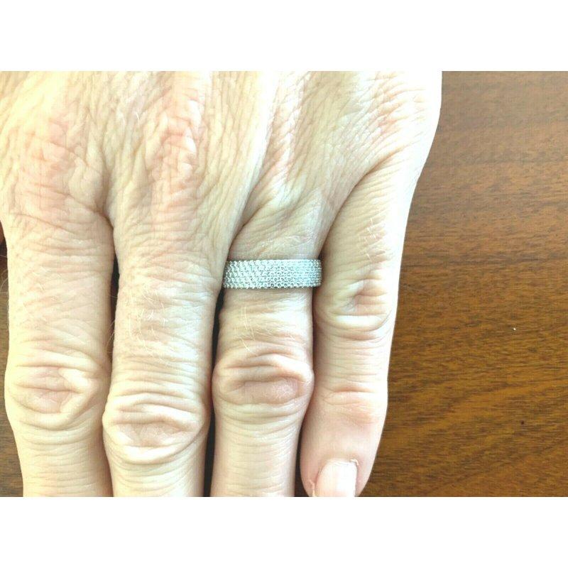 Pre-Loved Jewelry Tiffany Metro Diamond Eternity Band $8k NEW