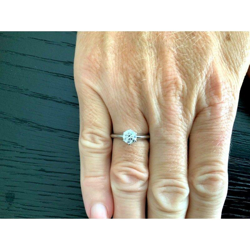 Pre-Loved Jewelry Tiffany Round .81 ct G VS1 $10k NEW