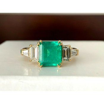 1.40 Columbian Green Emerald