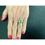 Pre-Loved Jewelry 1.40 Columbian Green Emerald