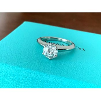 Tiffany Round 1.08 F VVS2 3 EXC $19k