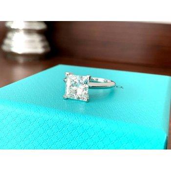 Tiffany Princess 2.55 ct H VVS1 $71k NEW