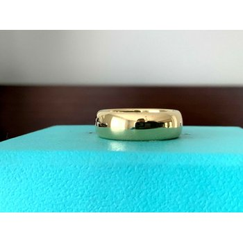 Tiffany 6 mm 18k Yellow Gold Wedding Band