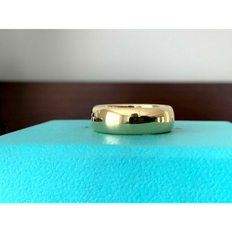 Pre-Loved Jewelry Tiffany 6 mm 18k Yellow Gold Wedding Band