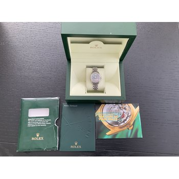 Rolex Ladies Mother of Pearl Diamond Dial 179160