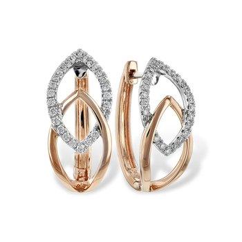 14KTT Diamond Earrings