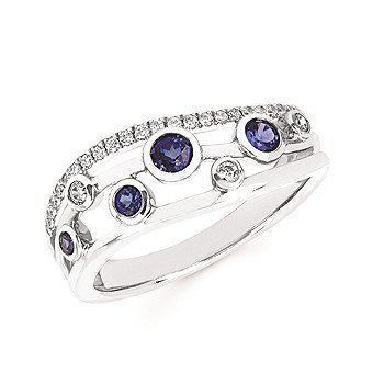 14KY Sapphire Ring