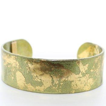 Cuff Bracelet 22K Yellow Plate