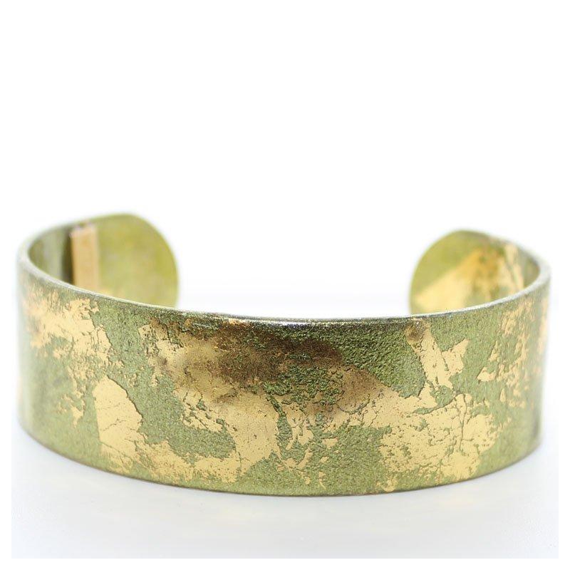 Bennett's Jewels Cuff Bracelet 22K Yellow Plate