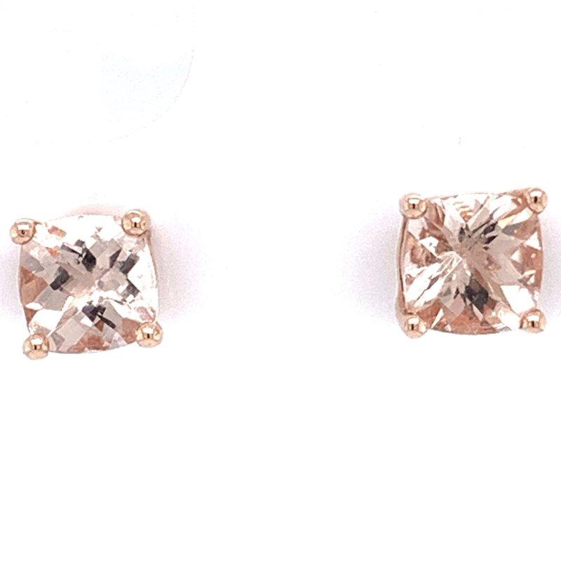 Bennett's Jewels 14KW Morganite Earrings