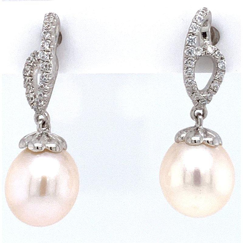 Bennett's Jewels Sterling Silver Pearl Earrings
