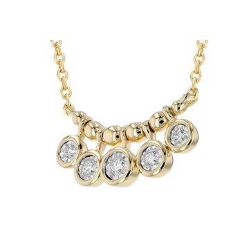 14KY Diamond Necklace