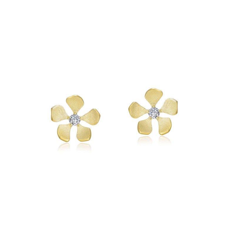 Bennett's Jewels Sterling Silver 14KY Plated Earrings