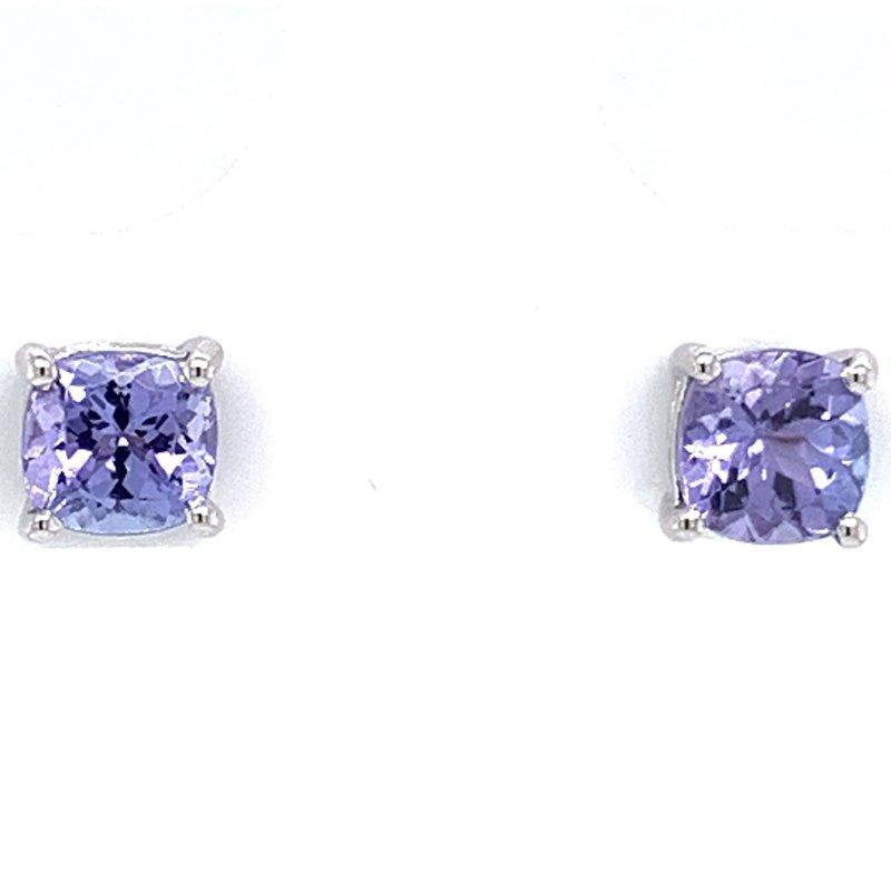 Bennett's Jewels 14KW Tanzanite Earrings