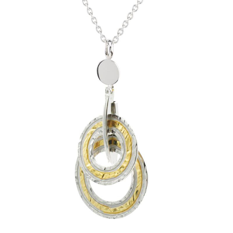 Bennett's Jewels Sterling Silver YG PL Kaitlyn Necklace